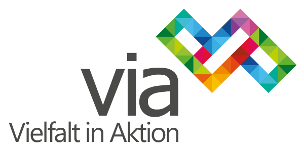 Vielfalt in Aktion (ViA) Logo